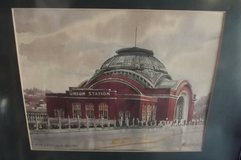 Tacomas Union Station water colour by Paul Norton in Fort Lewis, Washington