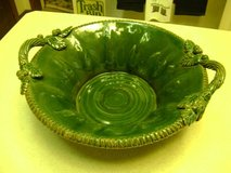 Vintage Handcrafted Heavy Italian Pottery Bowl in Kingwood, Texas