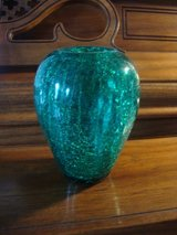 Green Crackled Vase in St. Charles, Illinois